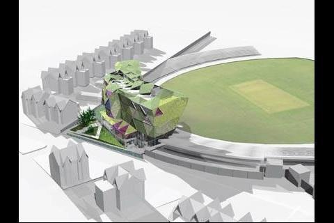 Alsop's design for Headingley cricket ground